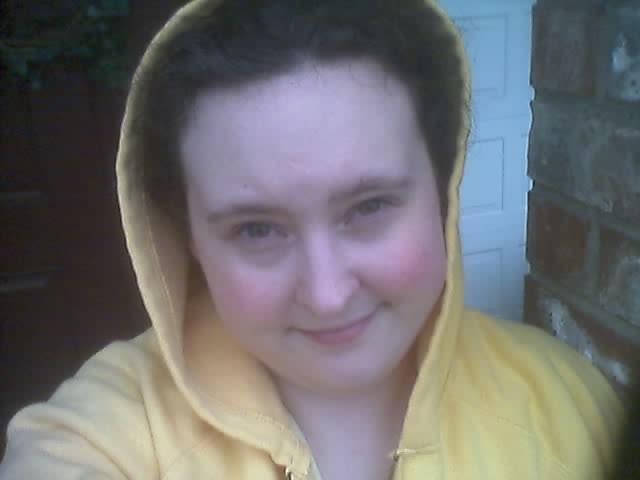 Leah and big coat